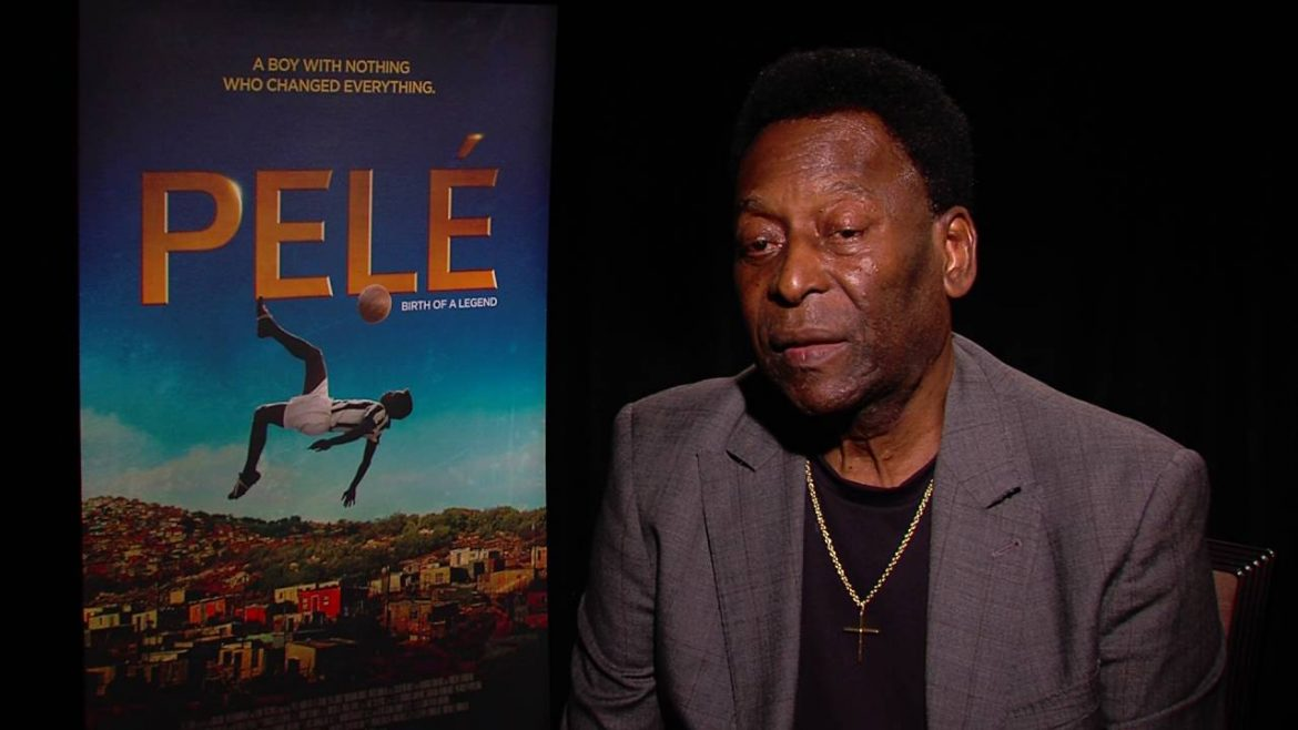 Football legend Pele says he is doing well after undergoing surgery for tumor