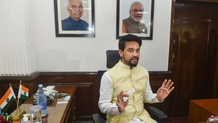 Hockey India can't unilaterally pull out of CWG, must consult with Govt: Sports minister Anurag Thakur